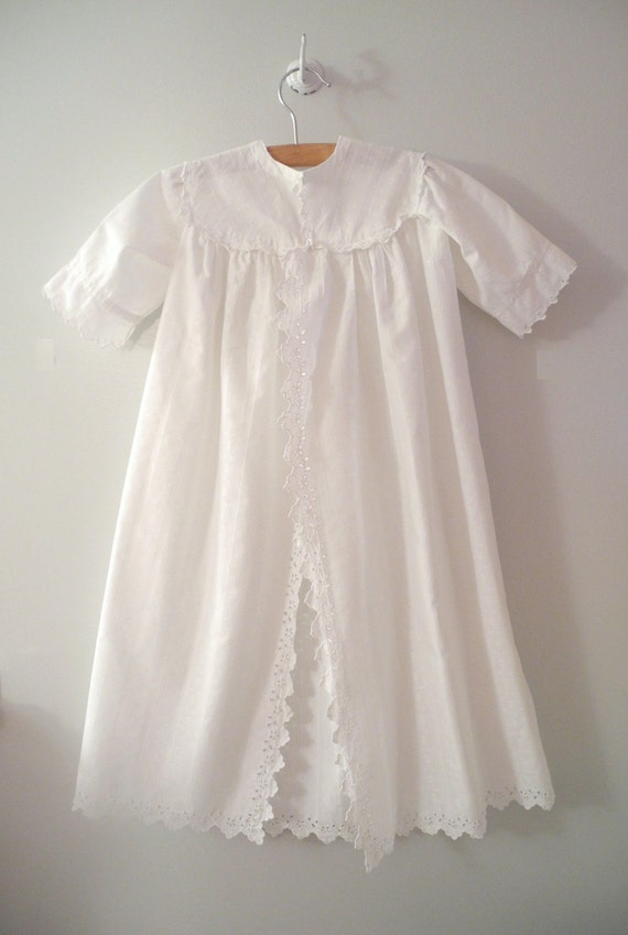 Turn of the Century Handmade French Christening Gown