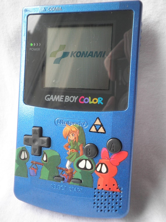 Gameboy Color - custom paint - Legend of Zelda - Oracle of Seasons