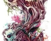 """LOST Art Canvas print 12""""x16""""inch - Jimmy Tan"""