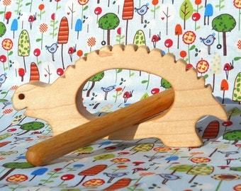Teddy the Turtle Percussion Instrument, Natural Wooden Toys, Musical Instruments, Singing, Rhythm, Montessori, Waldorf