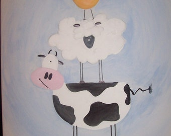 Cow, Sheep, Chick