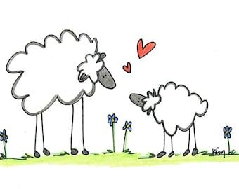 Lamb Love Cards