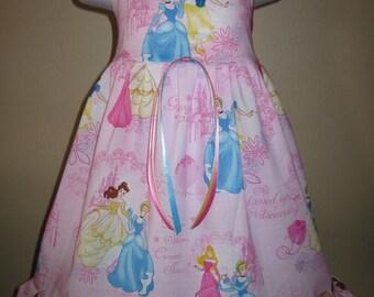 Boutique DISNEY PRINCESS Girls Birthday Dress 6m 9m 12m 18m 24m 2t 3t 4t 5t 6yr - SarahsRainbow