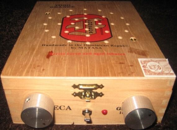"Cigar box guitar amplifier: ""The Mighty Little"""