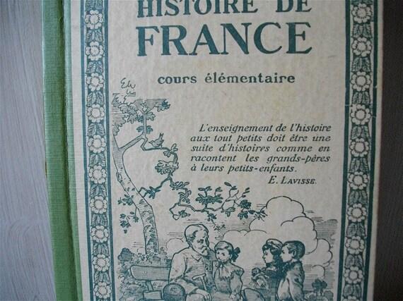 French vintage history  FRANCE book for children