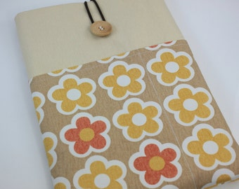 MacBook Air 11 & 12 inch Case Laptop Sleeve Cover Padded , with pockets for iPhone - Flower Flower