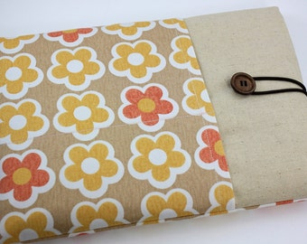 """Laptop Case, 13"""" MacBook Case, 13"""" MacBook Air Case, 13"""" MacBook Pro Case, PADDED, with 2 pockets - Flower Flowers"""