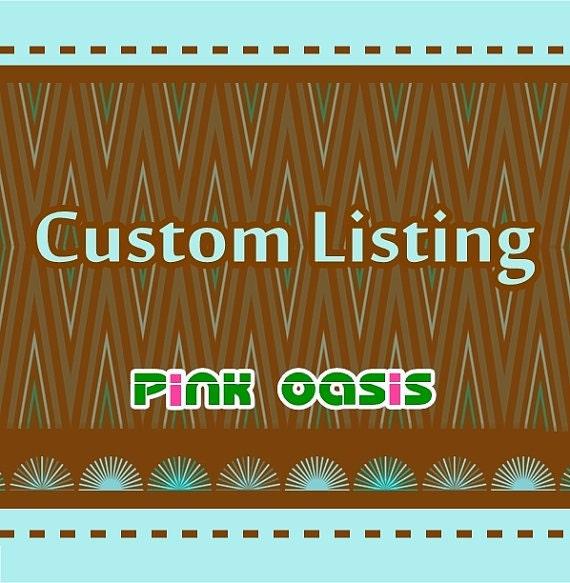 Custom listing for lynda - Feb.14th.