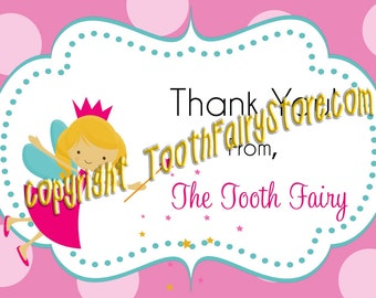 Tooth Fairy Thank You Calling cards Set of 20