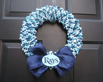 Beaded Wreath- Custom Any Team