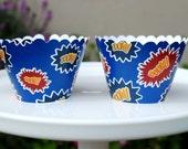 Superhero Cupcake Wrappers