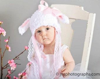 Little Bo Peep , Lamb Hat,  Easter Bonnet