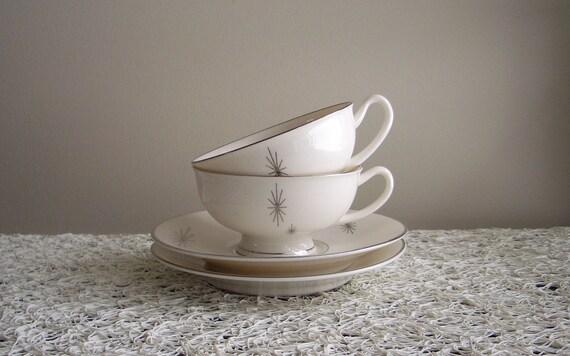 Syracuse Polaris Tea / Coffee Cup and Saucer (set of 2)