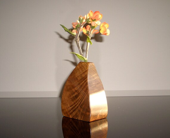 Sculptural Wooden Vase