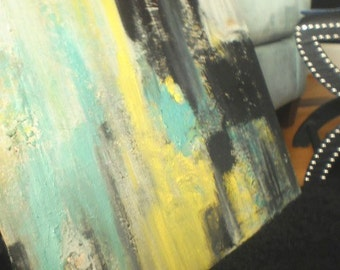 Summer Home Decor Spring Accessories Acrylic Art Handpainting Modern Abstract Art Original Acrylic on Canvas-Dotage