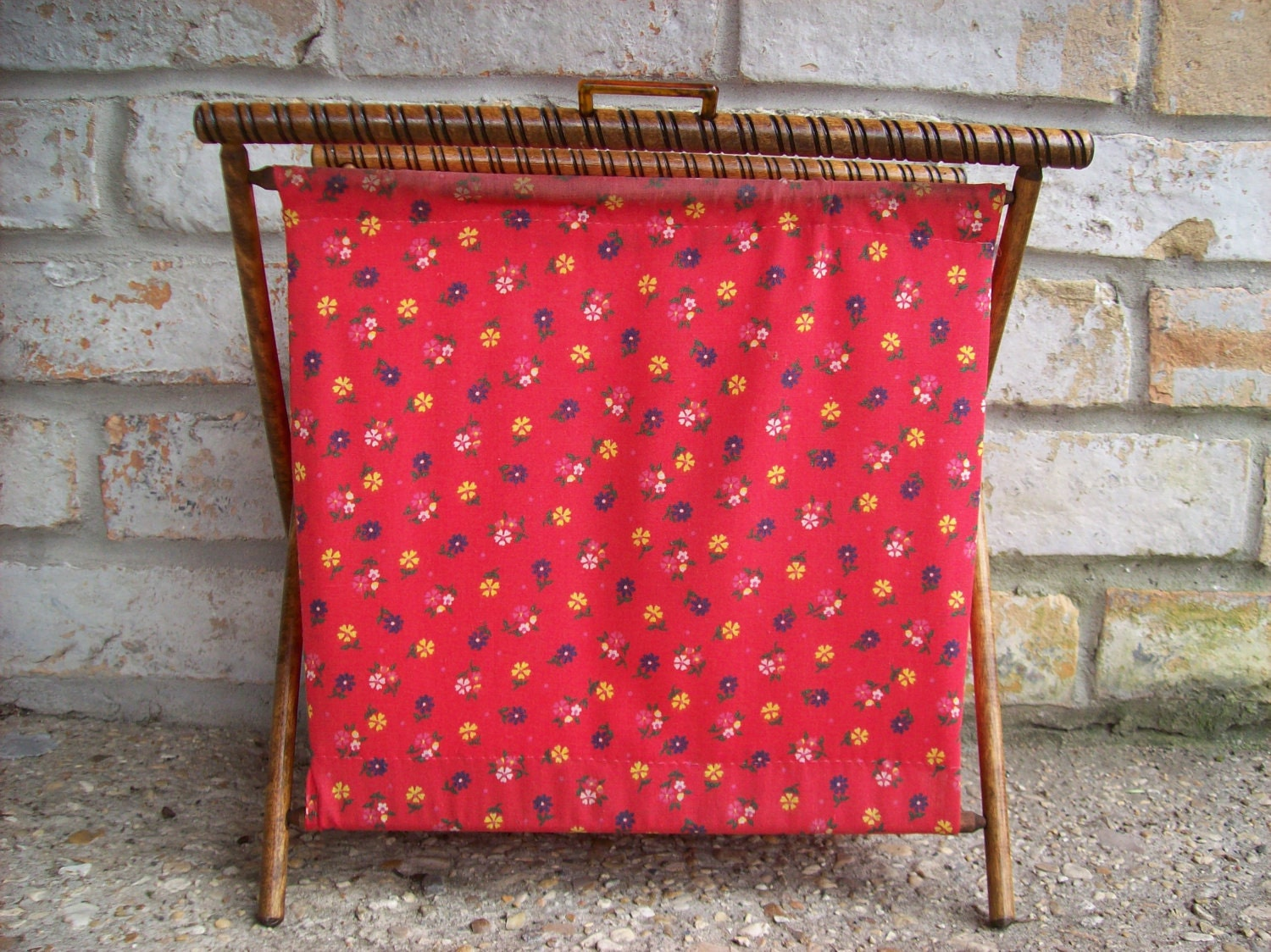 Vintage Knitting Basket 61