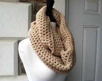 Crochet Circle Infinity Unisex carf - LACE