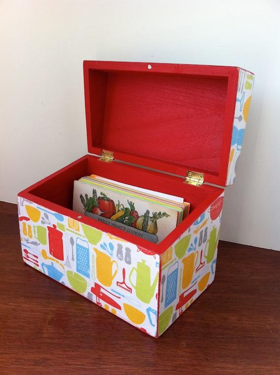 Retro Recipe Box