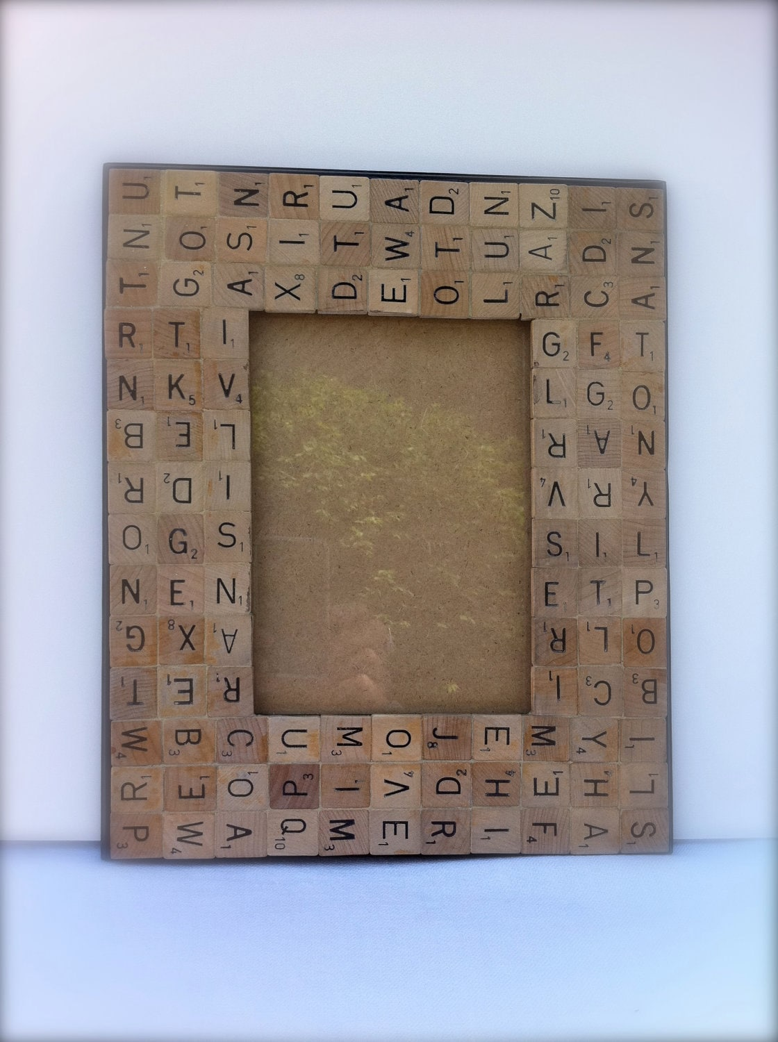 HALF OFF SALE All Mixed Up Made To Order 5 X 7 Scrabble Tiles
