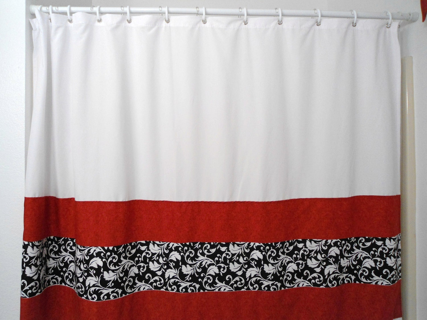 How To Make Pinch Pleat Curtains Black and Silver Shower Curtain