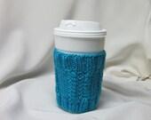 Hand Knit Coffee Cup Sleeve