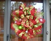 Monogrammed Christmas Wreath