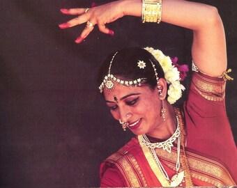 Indian Dancer Bharat Natyam