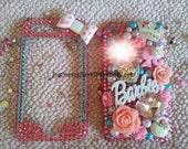 Barbie deco bling case Iphone 3G/3GS