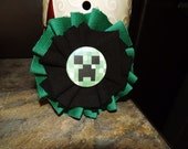 RESERVED: Minecraft Creeper Ruffle Flower