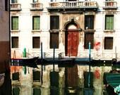 Reflections of Venice, Italy 8x10 Fine Art Photography