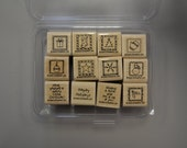 """Stampin Up """"Little Holiday Wishes"""" Retired Set"""
