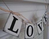 Wedding banner, LOVE Banner, Barn Wedding Decor, Sweetheart Table Decor , Wedding Decor, Bridal Shower Decor, Photo Prop