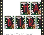 Casino Party Banner - Lucky Draw ~ Casino Party Sign, Casino Night Banner, Casino Banner, Casino Event Banner, Printable Casino Party