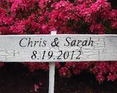 Wedding Keepsake Sign-Wooden Wedding Sign