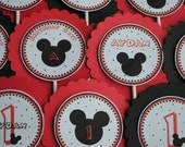 NEW - Mickey Mouse Cupcake Toppers