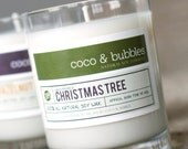 No. 109: CHRISTMAS TREE  // Natural Soy Candle // 13 oz // Highly Scented