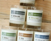Soy Candles // Complete MAN-APPROVED Collection // Six 13 oz. Candles