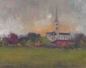 Salisbury Cathedral - Original Oil Painting