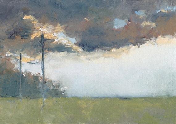 Battlefield Ghosts - Original Oil Painting
