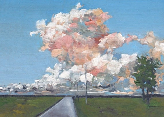 Dragon Road (County Road 52) - Original Oil Painting (Reserved)
