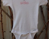 onesies Christening or Baptize Ceremony