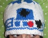 R2D2, It Is You, It Is You - Custom Knit Hat