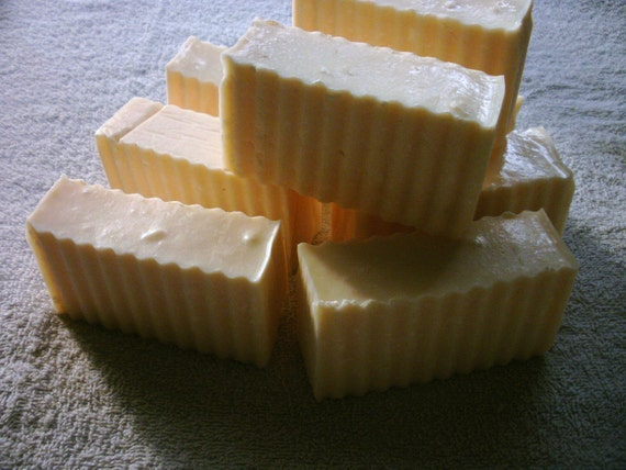 SALE Mandarin Orange Goats Milk Exfoliating Soap
