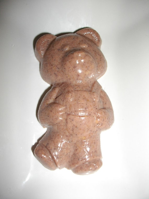 Cinnamon, Oats and Honey Bear Soap - samples, party favors