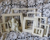 Picture Frames, French Country, Country Cottage, Beach House, Shabby, Distressed, Upcycled