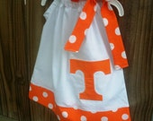 Vols pillowcase dress available ut, uk, lsu, ug