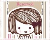 Reserved listing for Carla Wallenfelsz(litawallenfelsz)