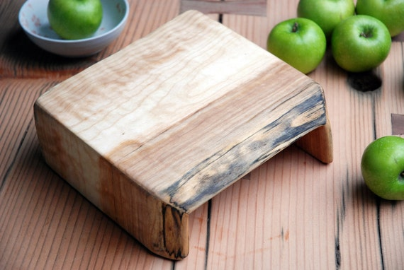 Salvaged Maple Waterfall Cutting Board/Serving Tray No.080