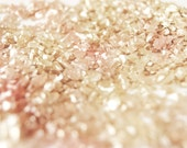 Pink and Gold Glitter - Fine Art Photography, Metallic Finish, Wall Art, Home Decor, Girly, Sparkly - 8x10 - SweetMomentsCaptured