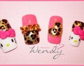 Hello Kitty Loves Leopard Print
